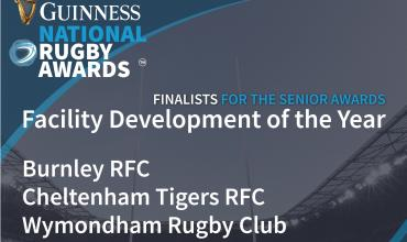 Facility of the year Guinness National Rugby Awards